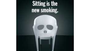 Sitting is the new smoking! Here are some tips to overcome it.