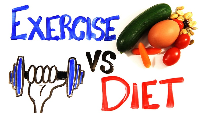 DIET VS EXERCISE FOR WEIGHT LOSS: HOW YOUR EATING PLAN IS MORE IMPORTANT THAN WORKING OUT?